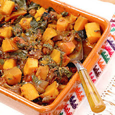 Smoky Braised Mexican Pumpkin