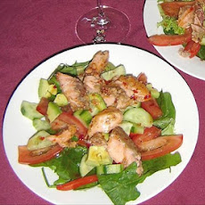 Atlantic Salmon Salad W Coriander & Chilli