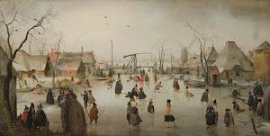 RIJKS: Hendrick Avercamp: painting 1610