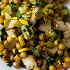 Lemony Chickpea Stir-Fry (Vegan and Yum)