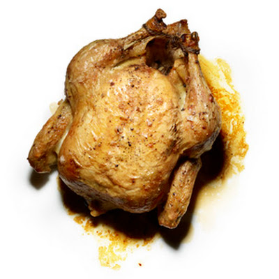 Roast Chicken with Pan Sauce
