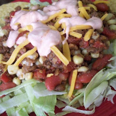 Quick Vegetarian Taco Salad