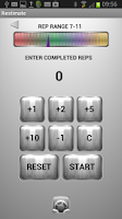 Screenshot of Restimate Gym Timer