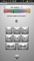 Screenshot of Restimate Gym Timer