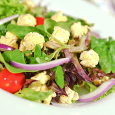Garden Salad With Four Cheeses Popcorn