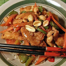 Szechuan Chicken With Peanuts 6 Ww Pts