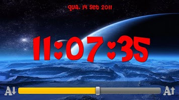 Screenshot of Visual Clock