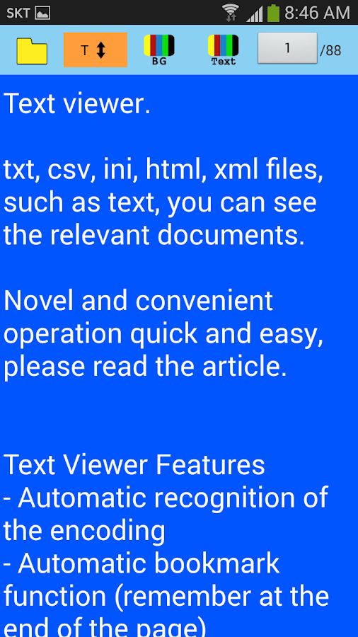 Text viewer - PRO Screenshot 3