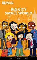 Screenshot of Big City Small World Podcasts