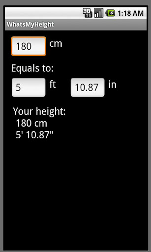 What's My Height