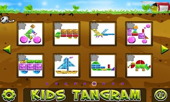 Screenshot of Kids Tangram