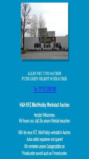 H H KFZ MietWerkstatt Aachen