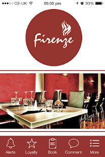 Firenze Restaurant, Nantwich - screenshot