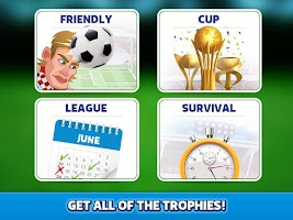 Screenshot of Head Soccer - World Football