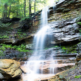 Dutchman's Run by Isaac Golding - Landscapes Waterscapes ( miner's run )
