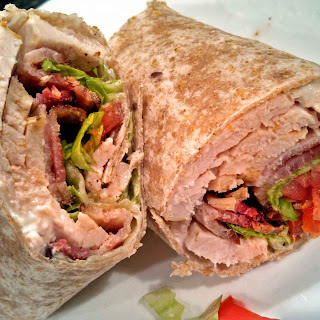 Turkey Bacon Club Wraps