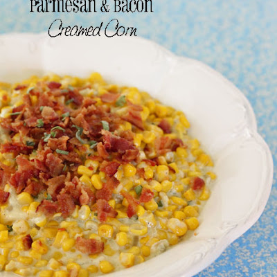 Parmesan and Bacon Creamed Corn