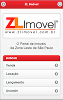 Screenshot of ZL Imóvel
