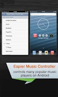Screenshot of Espier Music Controller