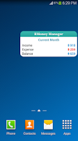 Screenshot of Money Manager