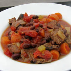 Brazilian Black Bean and Beef Stew