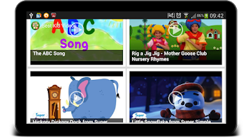 Screenshot of Best Kid Videos