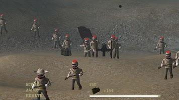 Screenshot of Cannon Shooter : Civil War Pro
