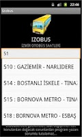 Screenshot of IZOBUS