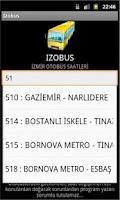 Screenshot of IZOBUS