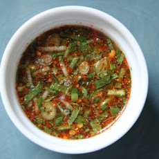 Thai Dried Chili Dipping Sauce