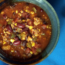 Mild Crock Pot Chili