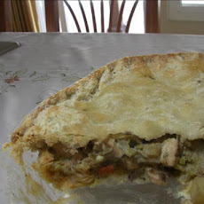 Tea Biscuit Wrapped Chicken Pie
