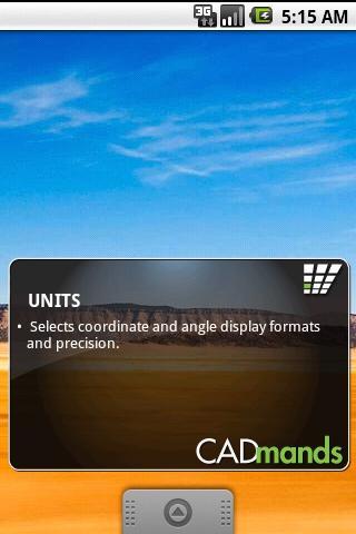 CADmands AutoCAD Home Widget