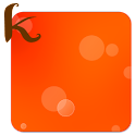 keeworld Theme: Happy Orange icon