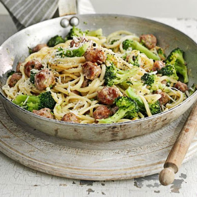 Sausage & Broccoli Carbonara