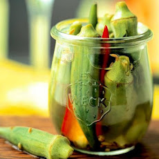 Spicy Pickled Okra Is The Perfect Compliment For Grilled Meat