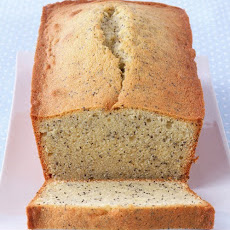 Almond Poppy-Seed Loaf Cake