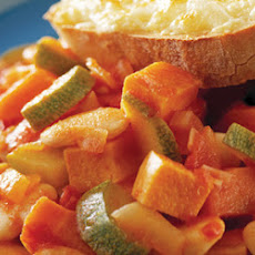 Chilli Vegetables With Cheesey Toasts