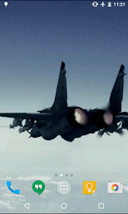 Aircraft Live Wallpaper- screenshot thumbnail