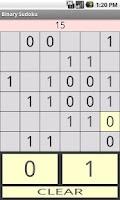Screenshot of Binary Sudoku