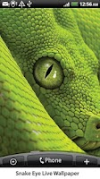 Screenshot of Snake Eye Live Wallpaper