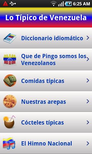 Venezuela - Lo Tipico