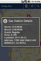 Screenshot of Cheap Gas