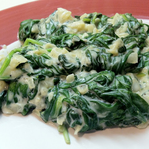 Laughing Cow Creamed Spinach