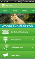 Screenshot of Woodland Park Zoo