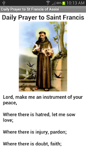 Saint Francis of Assisi - screenshot