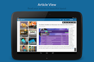 Screenshot of News+ | Google News RSS Reader