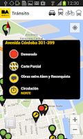 Screenshot of BA Movil