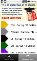 Screenshot of Student Survival Kit Coupons