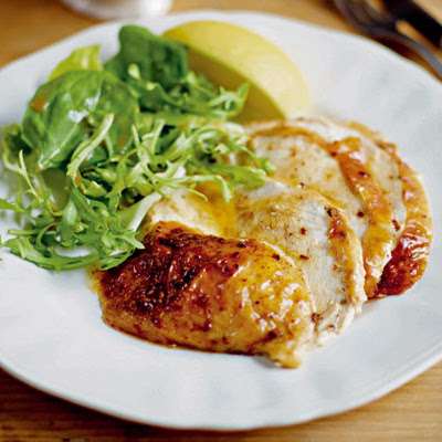 Baked Chicken with Cinnamon Butter
